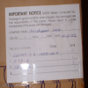 Photo of Package Notice